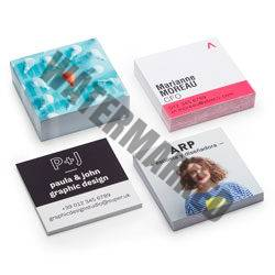 Square and Mini Business Cards
