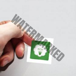 Square Label Sticker Printing