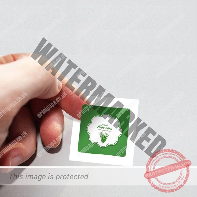 Square Label Sticker Printing
