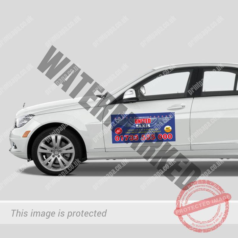 Magnetic Taxi Signs Printers