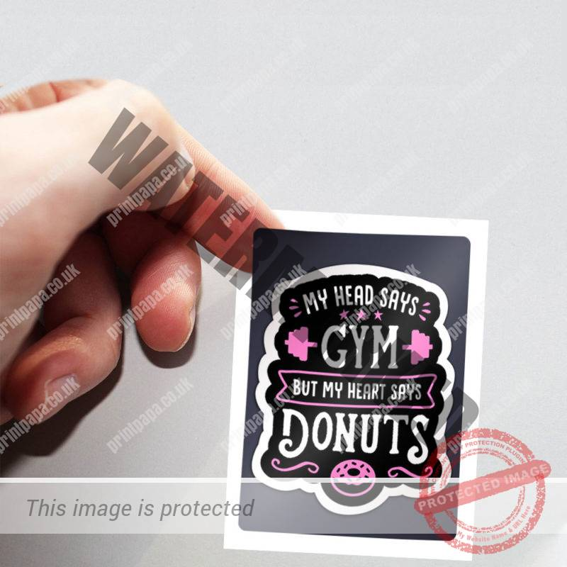 Rectangle Label Stickers Printing