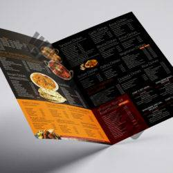 Food Table Menu Printers
