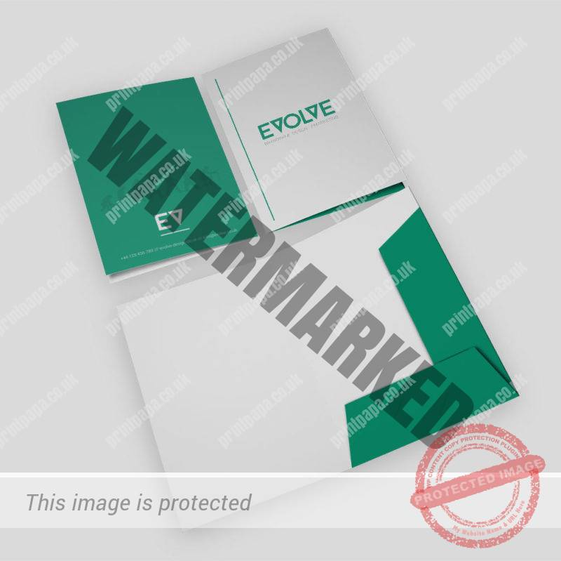 Standard Interlocking Presentation Folder Printers