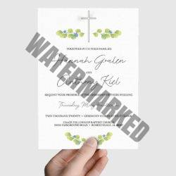 Christian Wedding Card Printer