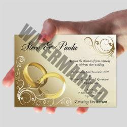A6 Christian Wedding Cards Printers