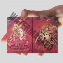 A6 Hindu Wedding Card Printers