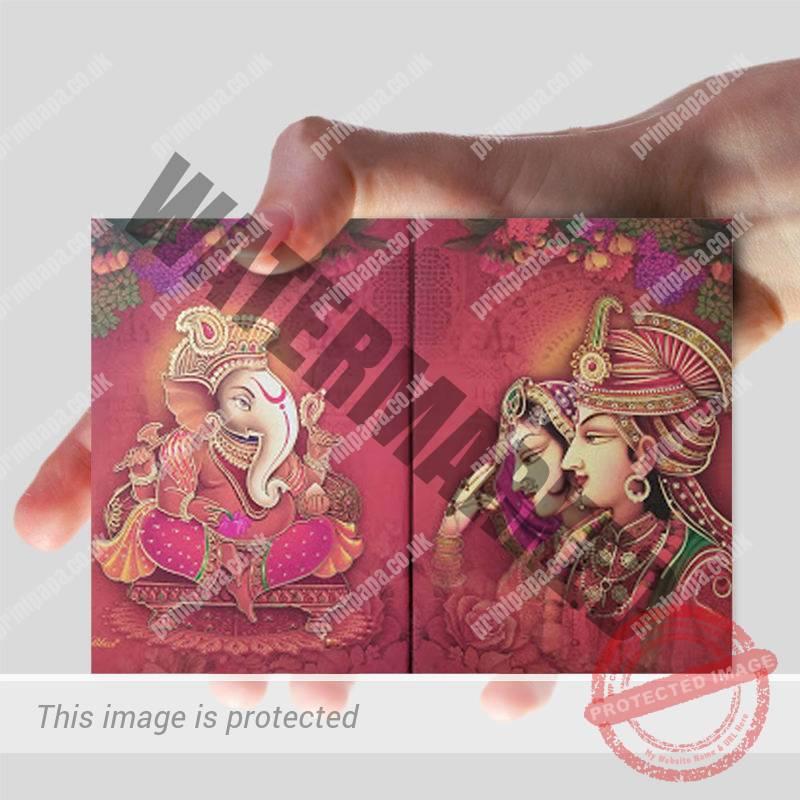 A6 Hindu Wedding Card Printers