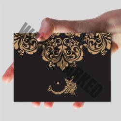 A6 Muslim Wedding Cards Printers