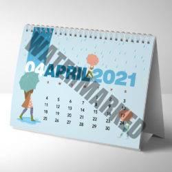 a5 desk calendar printers